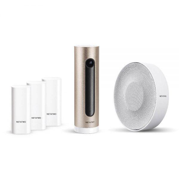 Pack sécurité sirène + détecteurs Netatmo