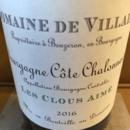 Bourgogne Côte Châlonnaise Les Clous Aimé 2016 Domaine de Villaine