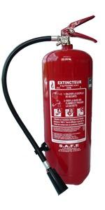 Extincteur à eau pulvérisée avec additif AB 6 litres Andrieu Pression Permanente
