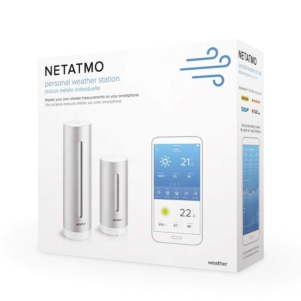 Pack station météo Netatmo