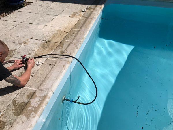 Détection de fuite sur piscine 1