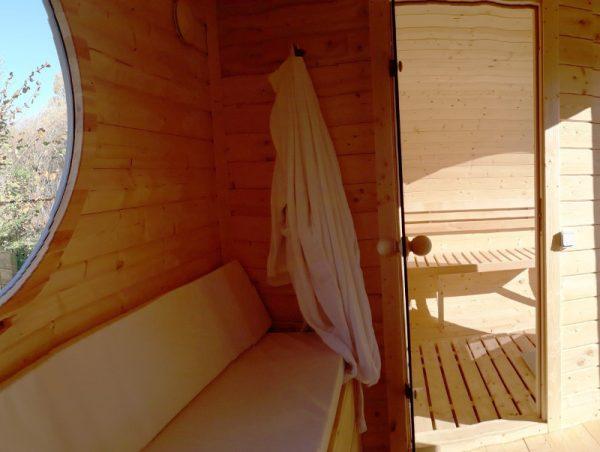 barrique sauna cocoon minima