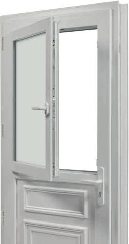 Produit 20 porte d'entrée PVC