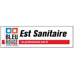 EST SANITAIRE BLEU ROUGE