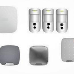 Kit alarme hub2 blanc