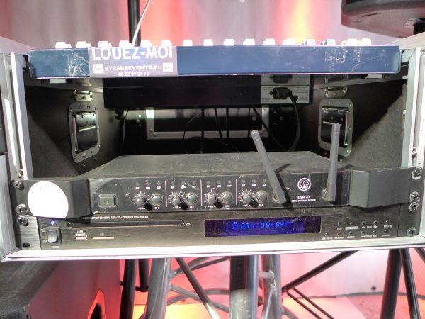 Micro-AKG HF sans fil et 1 micro serre-tête à louer !
