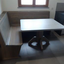 Moderne en chêne huilée gris argent 02