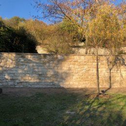 Mur Pierre Après Travaux