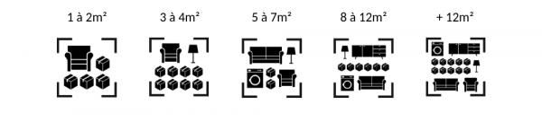 Produit 14 a 20 Stockage + de 12 m2