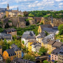photo ville Luxembourg