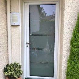 porte d'entrée aluminium toute vitrée2