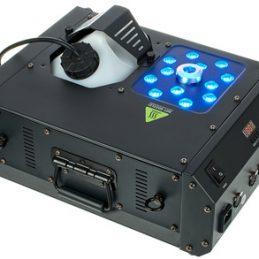 Machine à fumée PRO. Geyser avec projecteur LED.