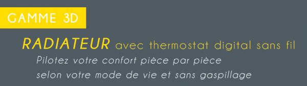 Radiateur a thermostat digital sans fil 5