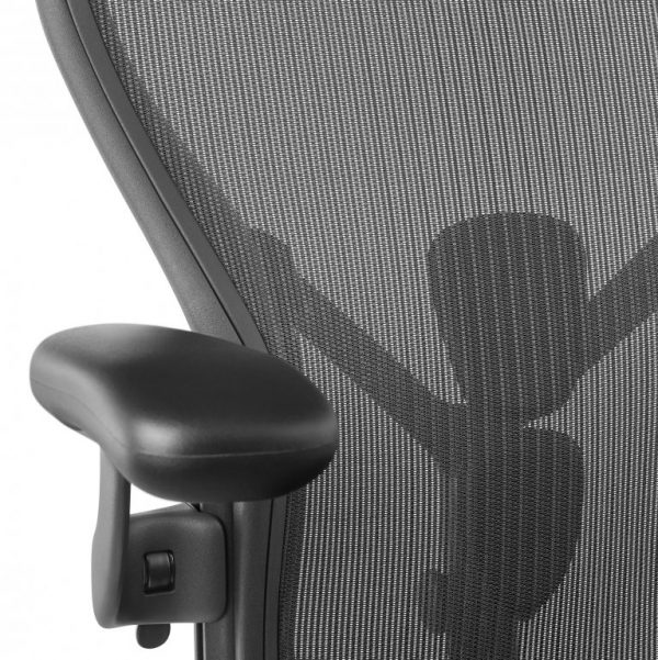 4 Fauteuil-AERON-Remastered-Taille-B-Graphite-Herman-MILLER