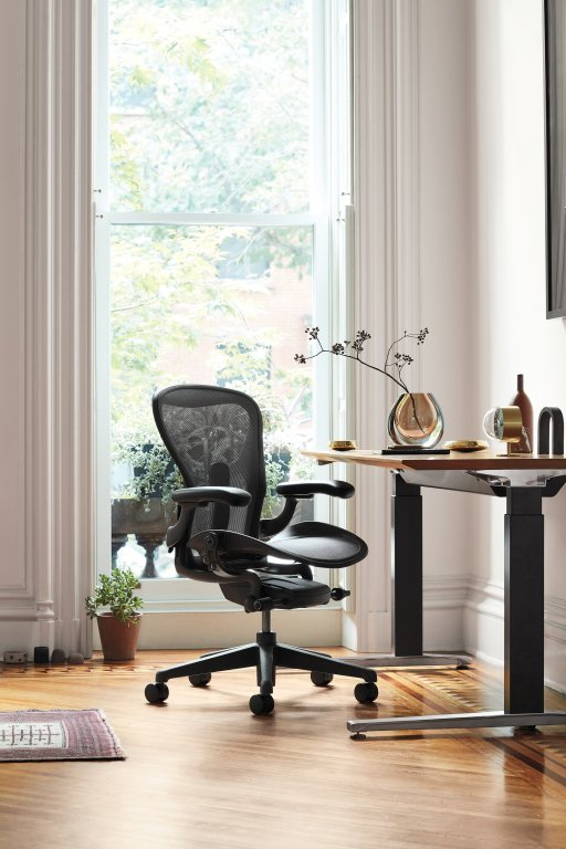 5 Fauteuil-AERON-Remastered-Taille-B-Graphite-Herman-MILLER