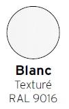 Blanc texturé RAL 9016