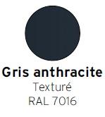 Gris anthracite texturé RAL 7016