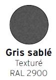 Gris sablé texturé RAL 2900