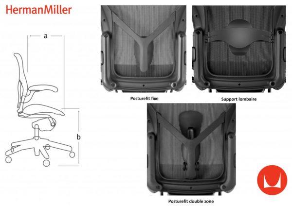 PRODUIT 4-2Fauteuil-AERON-Dessinateur-Graphite-Herman-MILLER
