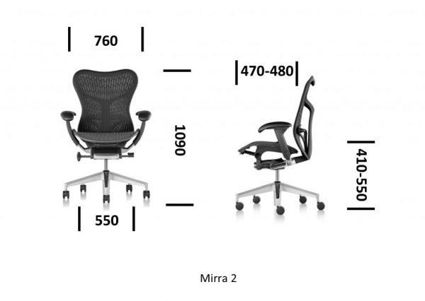 PRODUIT 9-2Fauteuil-MIRRA-2-Herman-MILLER-Butterfly-Graphite