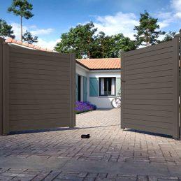 2 portail-aluminium-Battant-PATIO-2900-ceklo
