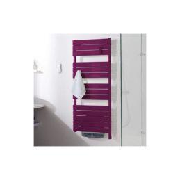 sèche-serviettes prune salle de bain