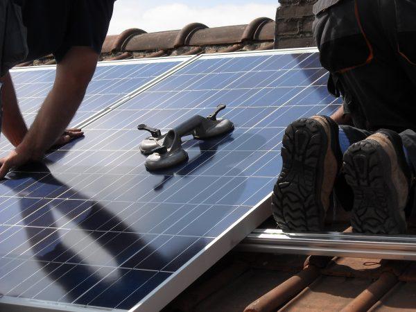 Fixation panneaux solaires