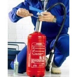 Maintenance préventive des extincteurs P8.1