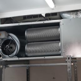 Maintenance préventive du désenfumage mécanique P3.2