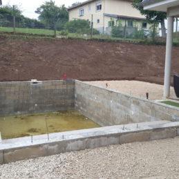 Terrassement pour piscine 2